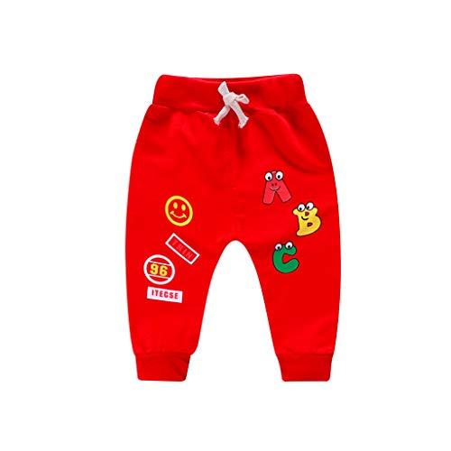 Amlaiworld Pantalones Bebé, Chandal Bebé Recién Nacido bebé niña niño Carta de...