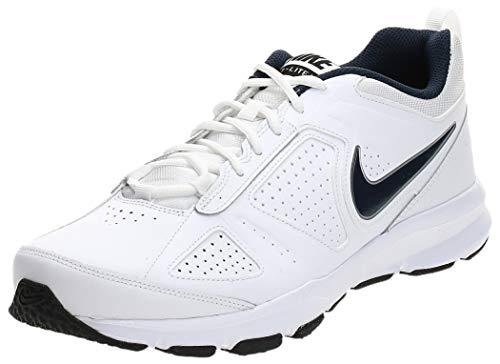 Nike - T- Lite XI - Chaussures de Fitness - Homme - Blanc (White/Obsidian-Black 101) - 42 EU