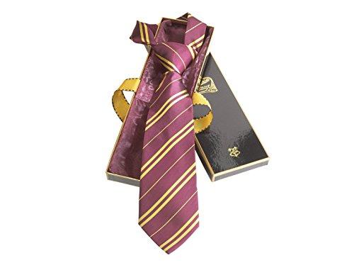The Noble CollectionGryffindor Krawatte aus 100% Seide in Madam Malkins Schachtel