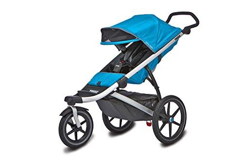 Thule Urban Glide Sillita de paseo para jogging 1Asiento(s) Azul - Cochecito (Sillita de paseo para jogging, 1 Asiento(s), Azul, Ruedas sólidas, 30,5 cm, 40,6 cm)