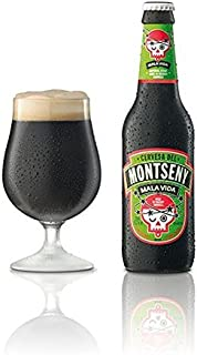 Cerveza Montseny Mala Vida Brandy (12 botellas de 33 cl) Bourbon Barrel Aged Imperial Stout Cerveza Artesana