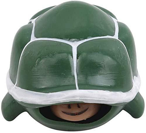 XIAOGINGV Sensoriale Giocattoli Pop capo di compressione della tartaruga animale sveglio di distensione della tensione e l'ansia Toy Balls stress Spremere telescopico Turtle decompressione Vent Giocat
