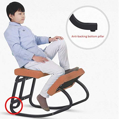 Kneeling stoel QIQIDEDIAN Ergonomische Ergonomische bureaustoel Computerstoel, bevorderen goede houding, Home Furniture QIQIDEDIAN