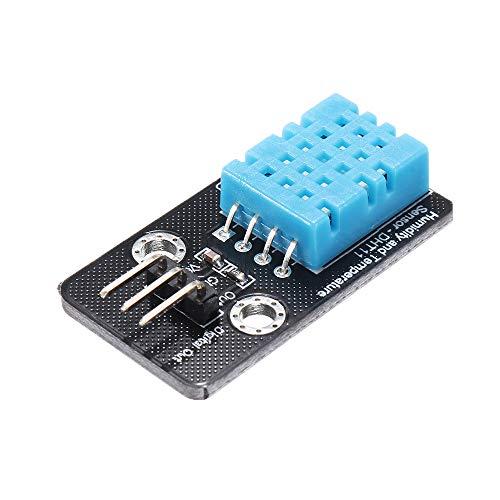 ILS DHT11 Sensor Feuchtigkeitssensor Modul 3 Stück für Arduino - Produkte kompatibel mit offiziellen Arduino-Boards
