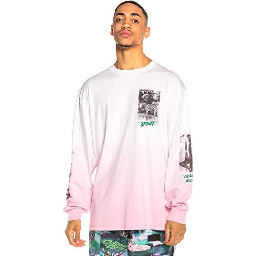 GRIMEY Camiseta Yanga Long Sleeve SS20 Pink-XXL
