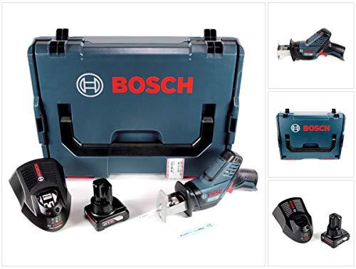 Bosch GSA 12V de 14Ion de litio Professional batería Sierra de sable en L-Boxx + 1x GBA 12V 6Ah Batería + Gal 1230Cargador