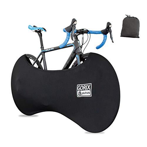 GORIX ゴリックス 伸縮式自転車ホイールカバーolol 自転車室内保管カバー 車載輸送 大径車用 ホイールカバー ロードバイク等対応