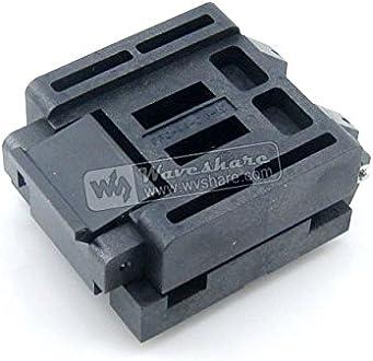 QFN36 Test /& Burn-in Socket ALLPARTZ Waveshare 36QN50S16060