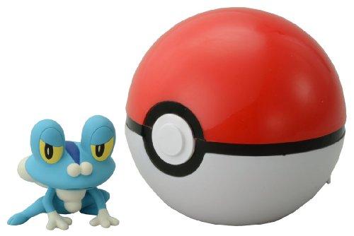 Takaratomy Pokemon Monster Collection Figure B-03 Monster Collection Monster Ball & Keromatsu