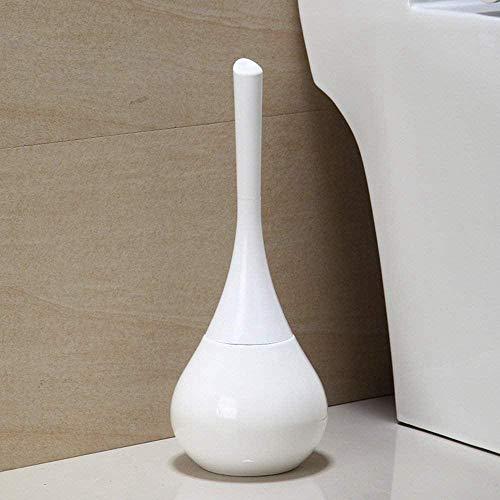 GTVV Verstecktes Badezimmer-Toiletten-Toilettenbürstenset-Weiß