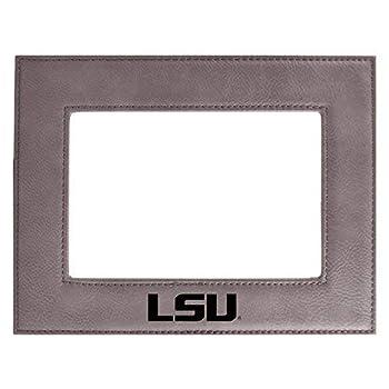 Louisiana State University-Velour Picture Frame 4x6-Grey