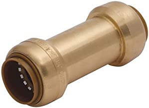 SharkBite U2016-0000LFA 3/4 inch x 3/4 inch Brass Check Valve, Push-to-Connect, Copper, PEX, CPVC