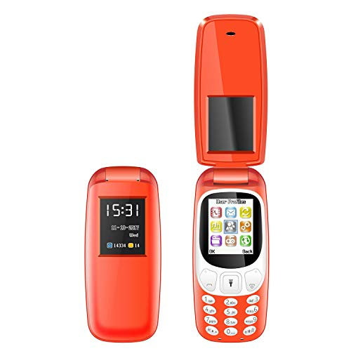 I KALL K3312 Premium Multimedia Feature Keypad Mobile Basic Bar Phone with Dual SIM Card, Camera, Fast Charging, King Voice Feature, Torch, Bluetooth (Red, 1.8 inch)