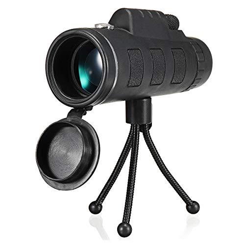Find Discount Monocular Telescope HD Ajustable Waterproof 40X60 Zoom Optical Lens Monocular Telescop...