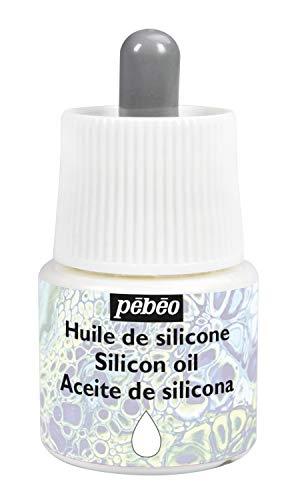 Pébéo Studio Acrylics - Aceite de silicona, transparente, 45 ml