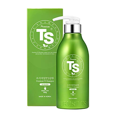Premium TS Shampoo for Thinning Hair & Hair Loss (16.9 Fl Oz) | Best hair Growth Stimulating Korea Shampoo | LAVENDER Scent with Essential Oil & Biotin & Natural Ingredients | Men & Women