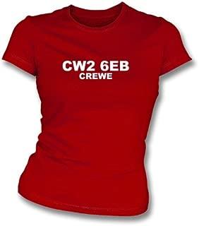 CW2 6EB Crewe Women's Slimfit T-Shirt Crewe Alexandra