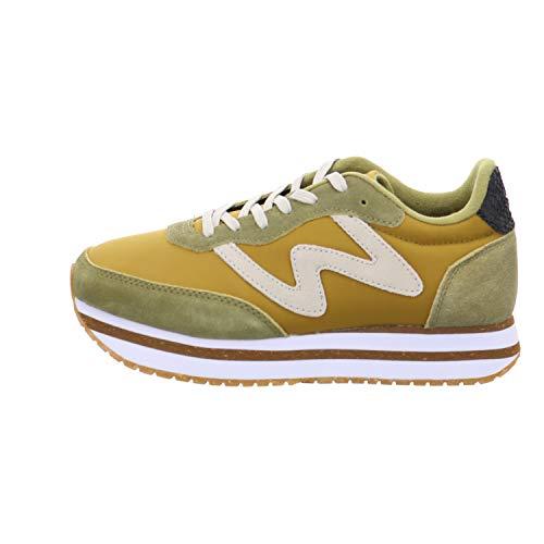 Woden Sneakers Olivia Plateau II 41, 639 Ecru Olive
