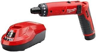Milwaukee 2101-21 M4 1/4 Hex Screwdriver Kit W/1 Bat