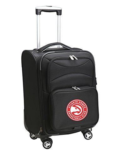 Denco NBA Atlanta Hawks Carry-On Luggage Spinner