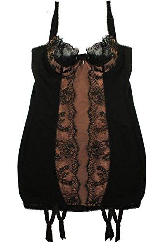 Dita von Teese Corsage Kleid mit Straps Strumpfhalter Savoir Faire Größe 70 75 80 B C D Größe 70 C