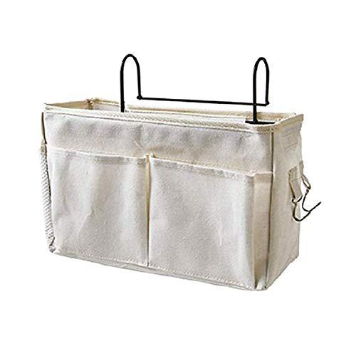 Demarkt Organiser Bed, Bed Hanger Organiser, Bedside Bag, Hanging Bag, Bed Bags, Multifunctional for Bunk Beds, Book, Magazine, Headphones