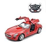 ZAKRLYB Fernbedienung auto modell spielzeug gesteuert fahrzeuge sport racing hobby spielzeugauto modell fahrzeug for jungen mädchen erwachsene 1:14 simulation drift cabrio tür mit vorne und hinten lic