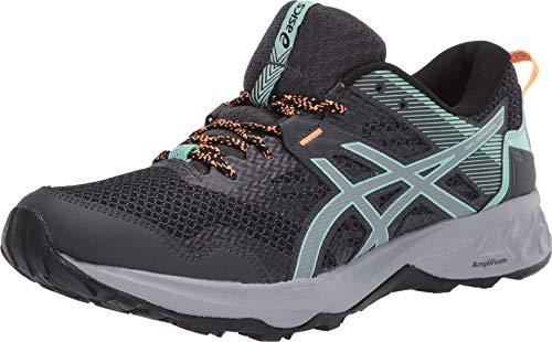 ASICS Women's Gel-Sonoma 5 Trail Running Shoes, 8M, Graphite Grey/Sheet Rock