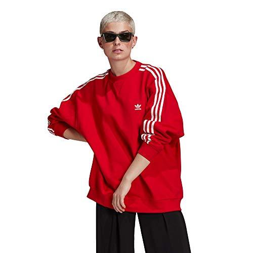 adidas GN2829 OS Sweatshirt Pullover Womens Scarlet 40