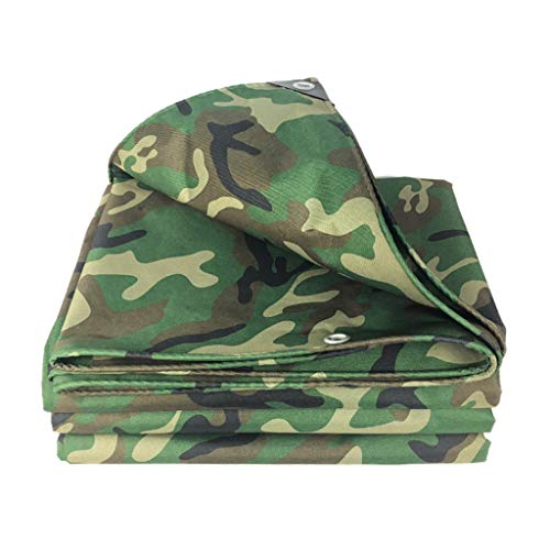 ASDF Verdikte PVC Oxford Camouflage Canvas Tarpaulin Truck Tarpaulin Shade Zonnescherm Tent Waterdichte Doek Regenbestendig Stof/Weefsel.