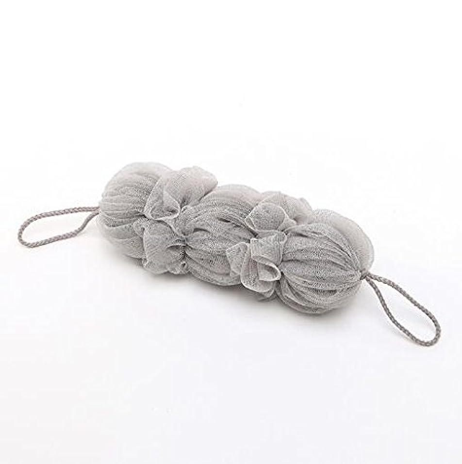 またね秘書あさりICOUCHI 紐付きボディタオル 背中も洗えるシャボン 泡立てネット 超柔軟 シャワー用 細かいネット 柔らかい泡立てネット