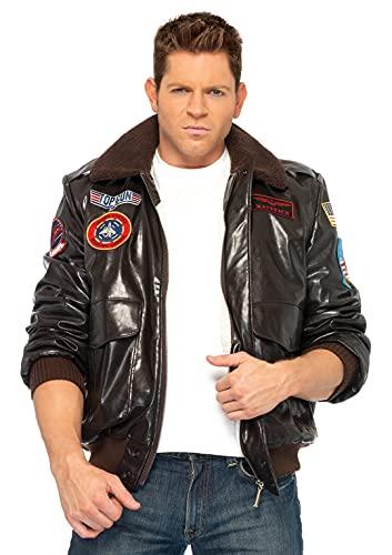 Leg Avenue Top Gun Bomber Jacket Costume for Men