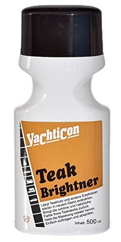 YACHTICON Teak Brightner Entgrauer 500ml