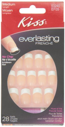 Kiss Products, Inc. Kiss Everlasting French 28 Piece Nail Kit, Infinite by Kiss Products, Inc.