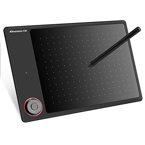 Arfbear 10Moons G30 Gráficos Tablet Pen Stylus Batería Libre 8192 Niveles Pensión de Pluma Signature Pad para PC Mac Windows Android