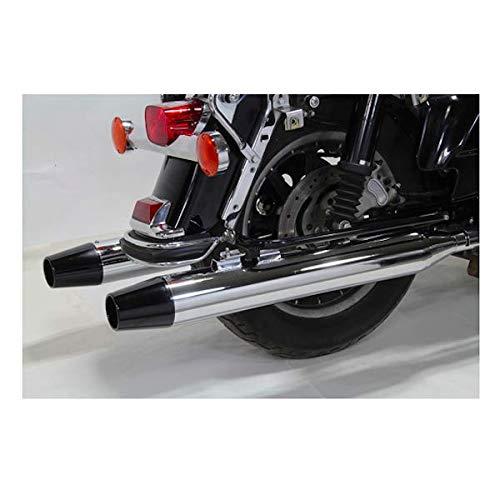 Scarichi Marmitte Terminali Long Tapered End Tips Cromati x Harley Davidson Touring Electra Glide Street Glide Road King Tour Glide Road Glide dal 1995 al 2016