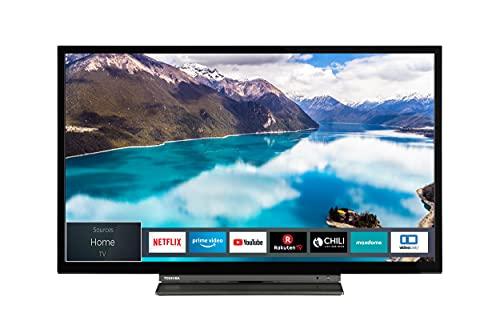 Toshiba 32WL3C63DA 32 Zoll Fernseher (HD-ready, Smart TV, Prime Video / Netflix, Bluetooth, WLAN, Triple Tuner, Works with Alexa)