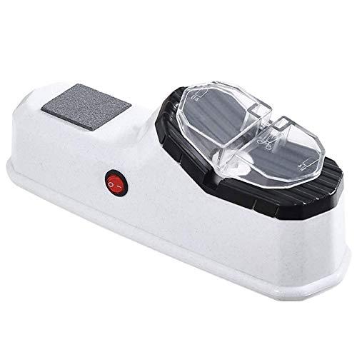 Adesign Sacapuntas para el hogar, sacapuntas automáticos, Sacapuntas eléctricos pequeños, Afilado rápido de Alta precisión (Blanco)
