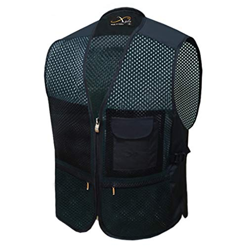 XYLO Cool Vest, Ice Cooling Vest Suitable for Indoor and Outdoor Use (Black, Normal) (L(100))