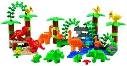 LEGO DUPLO Dinosaurier Set Langhals Flugsaurier 95 Elemente 4 versc Dinos 9213