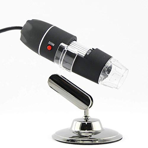 1600X Megapixel, USB-Mikroskop 1000X 5000X Digital-Mikroskop-Kamera 8LED Lupe Endoskop für Android MAC Fenste