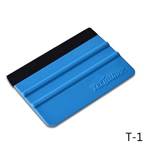 TECKWRAP 青いスキージ スキージー フェルト付