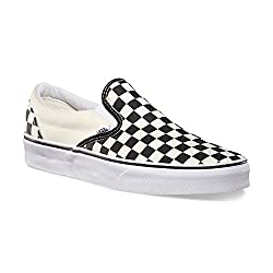 Checked Vans Slip On