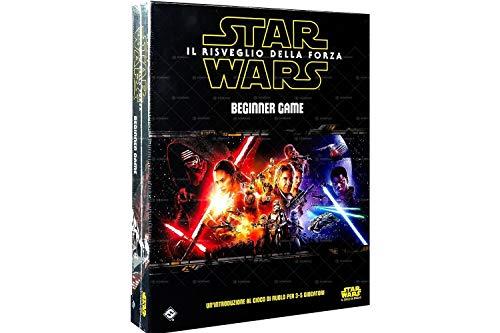 Asmodee- Star Wars: Il Risveglio della Forza Beginner Game Gioco di Ruolo Edizione Interamente in Italiano, Colore, 5000