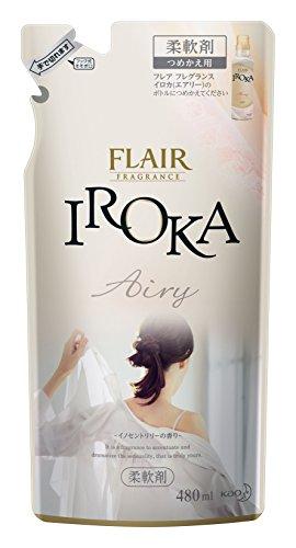 花王 ハミング IROKA Airy つめかえ用 袋480ml [3699]