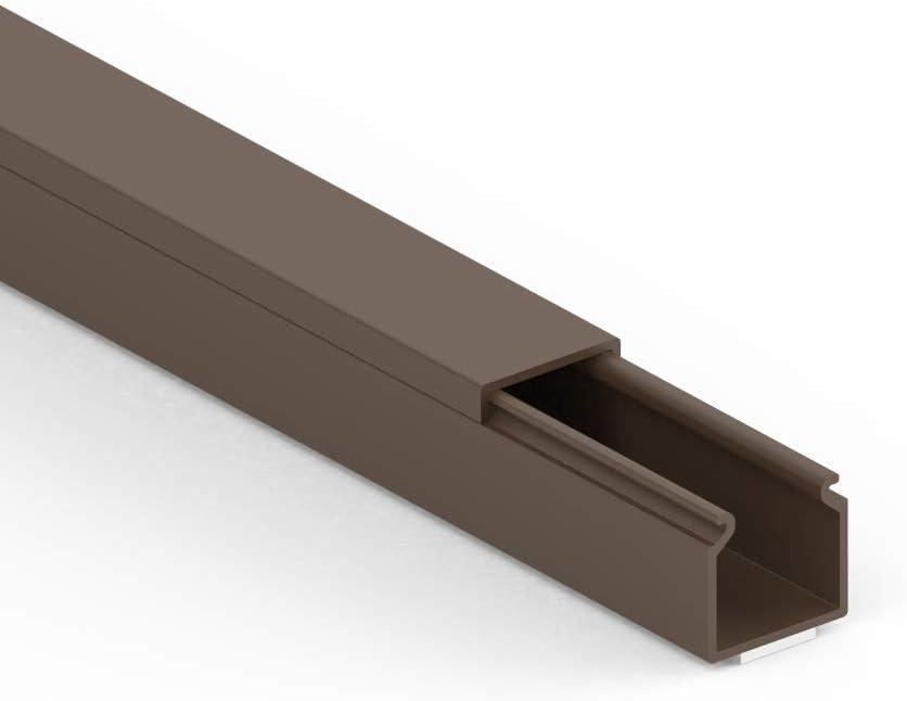 Cablecoach CC10057 15 x 15 mm, Longitud 1 m, Color marrón