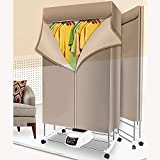 Innotic 3-Tier 1200W Heated Clothes Dryer Electric Portable Foldable 170cm, Clothes Drying Rack Indoor Anion Energy Saving With Remote Control Clothes Airer Drying Machine.