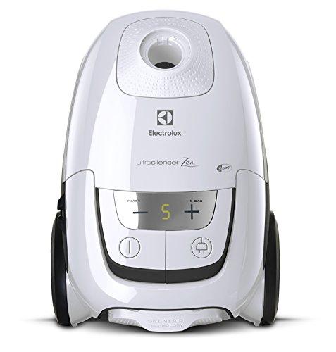 Electrolux EUS8ALRGY Aspirapolvere con Sacco Ultrasilencer, 750 W, 3.5 Litri, 58 Decibel, Bianco