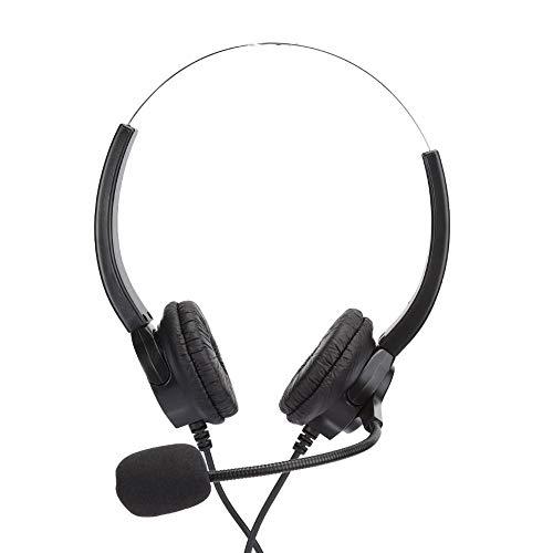 Annjom Kopfhörer, Headset, Freisprechkopfhörer mit Mikrofon, für Handyberatungsdienste,