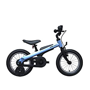 Segway Ninebot Kids Bike for Boys and Girls, 14 inch with Training Wheels, 14 18 inch with Kickstand, Pink Blue Red -